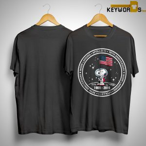 Snoopy Apollo 11 50th Anniversary Moon Landing Shirt