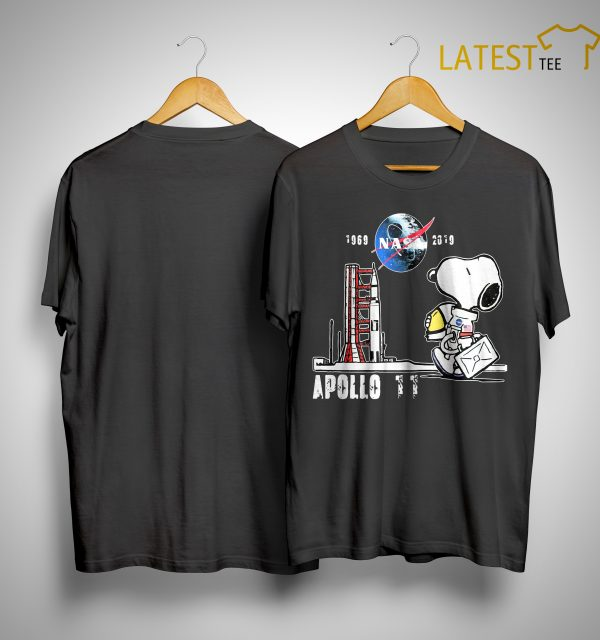 Snoopy Nasa 1969 2918 Apollo 11 Shirt