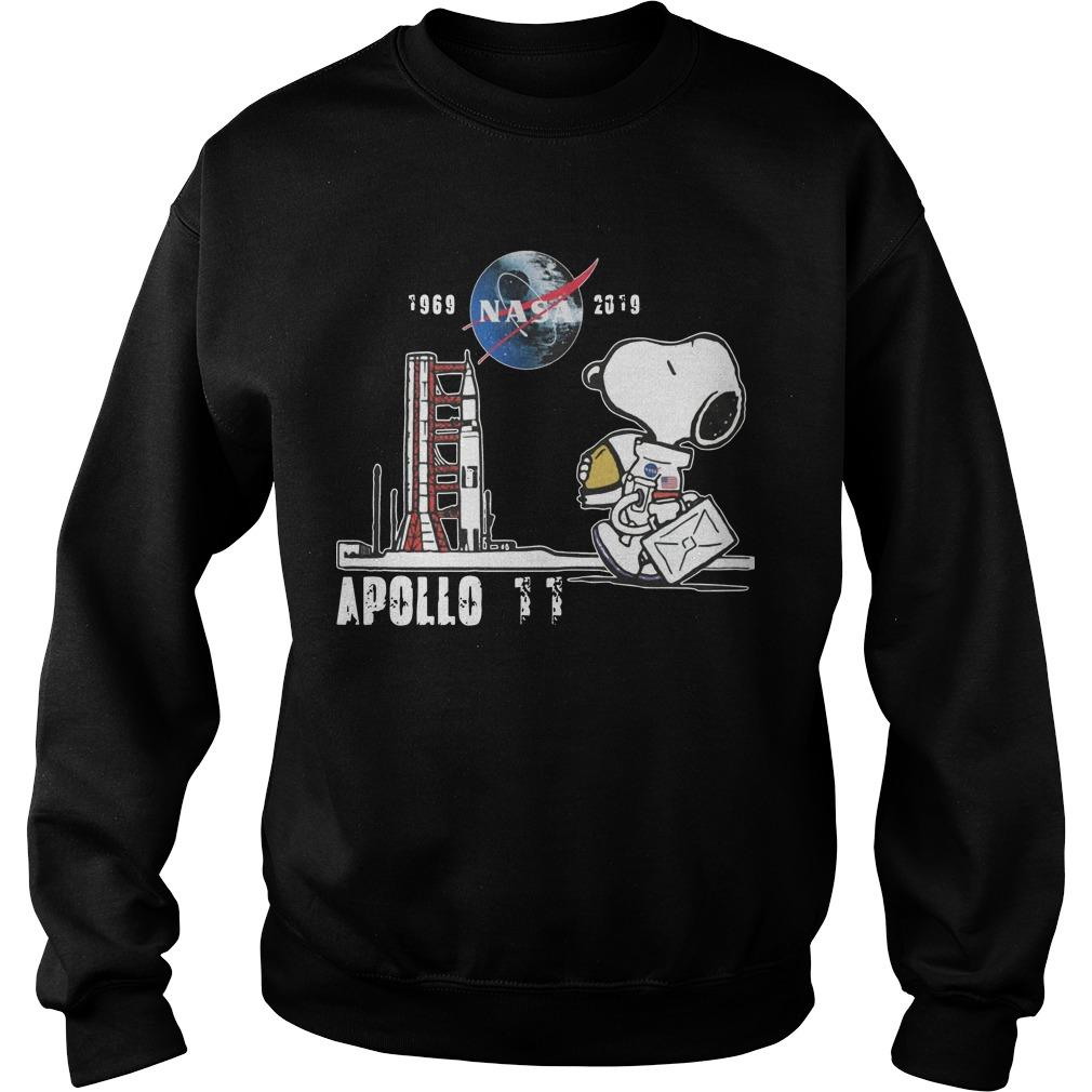 Snoopy Nasa 1969 2918 Apollo 11 Sweater