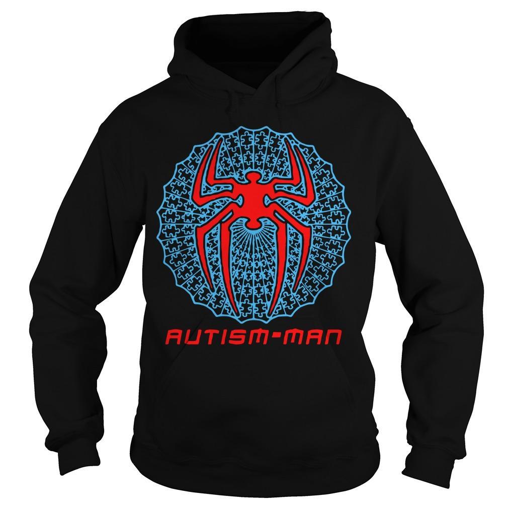 Spider Man Autism Man Hoodie
