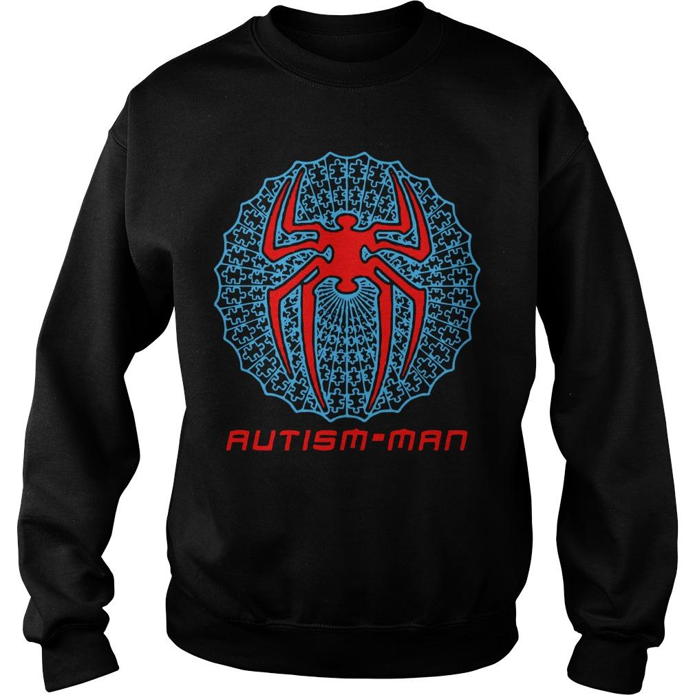 Spider Man Autism Man Sweater