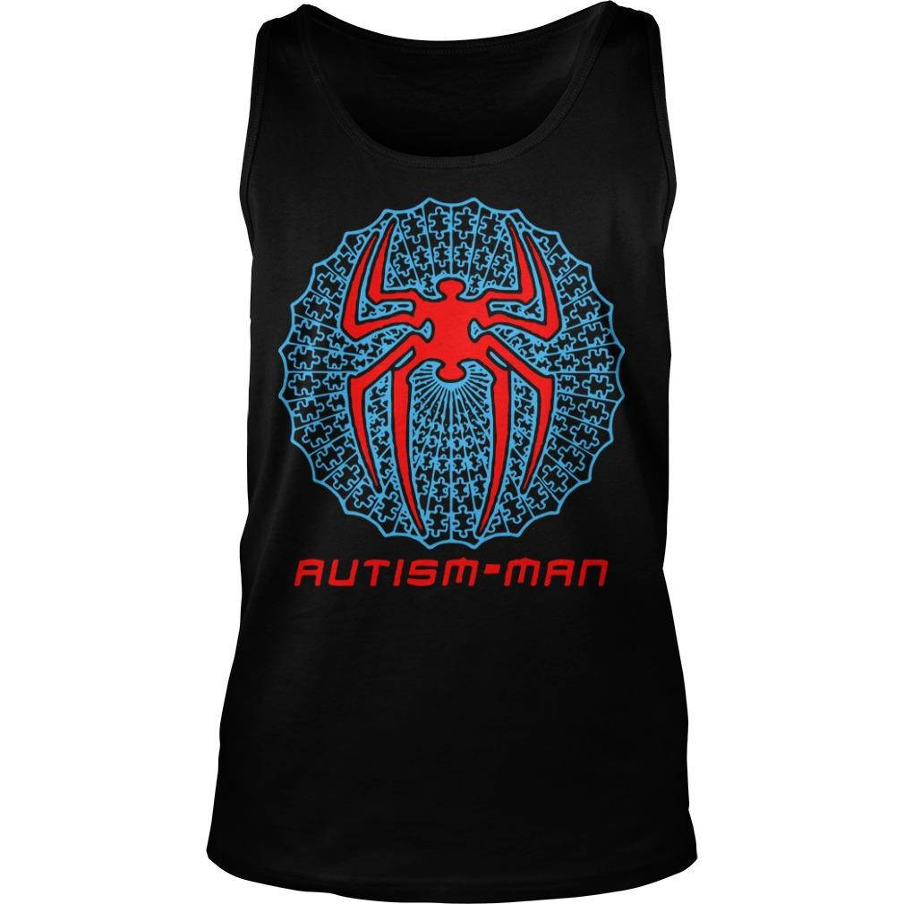 Spider Man Autism Man Tank Top