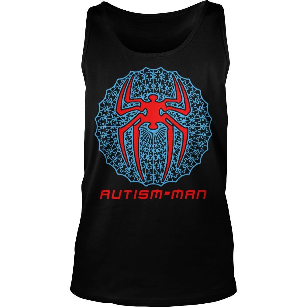 Spider Man Autism Man Tank Top