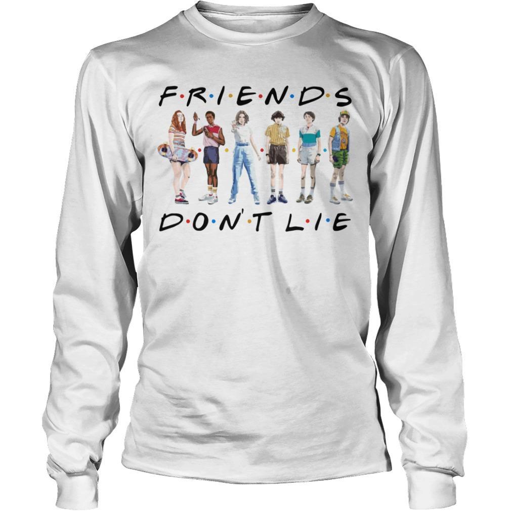 Stranger Things 3 Friends Don't Lie Longsleeve