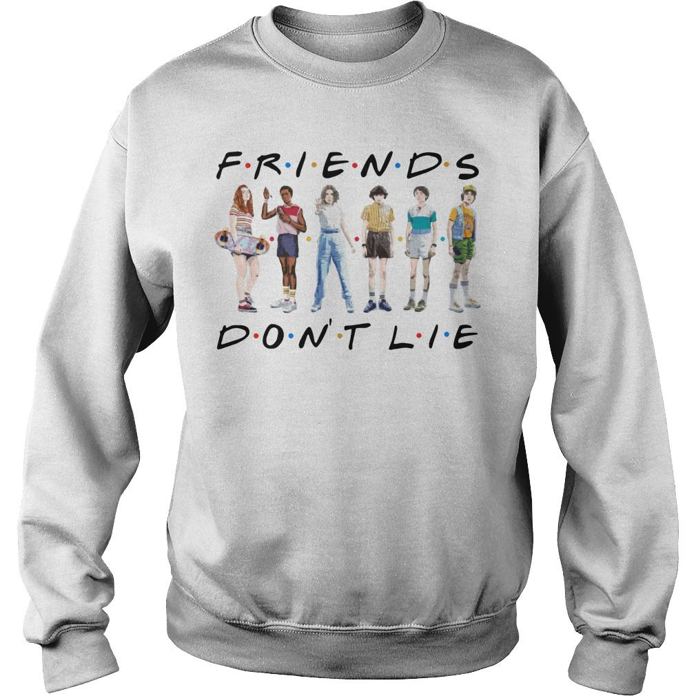 Stranger Things 3 Friends Don't Lie Sweater