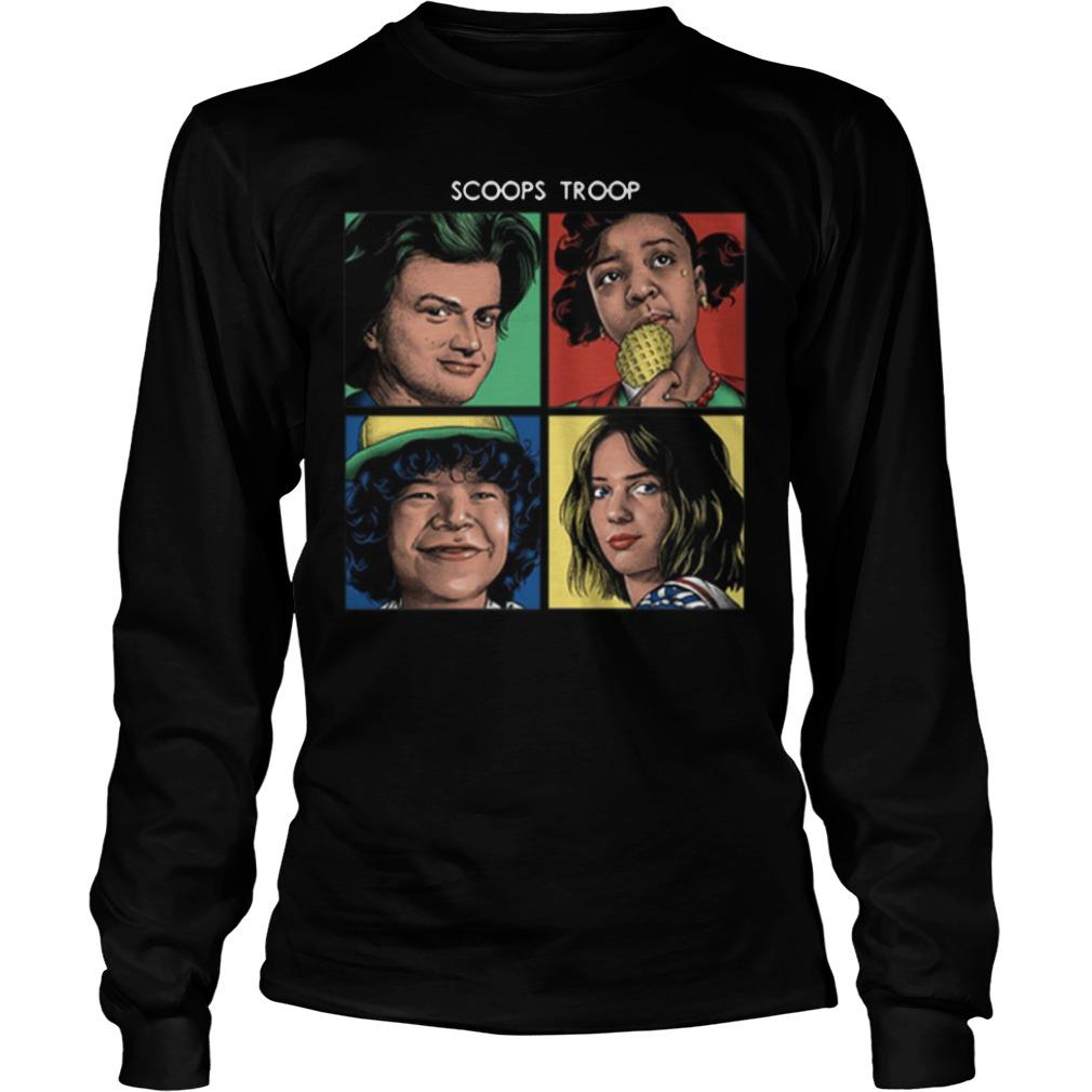 Stranger Things 3 Scoops Troop Longsleeve