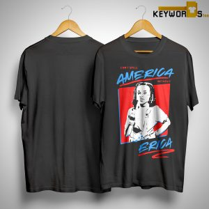 Stranger Things You Can't Spell America Without Erica Shirt