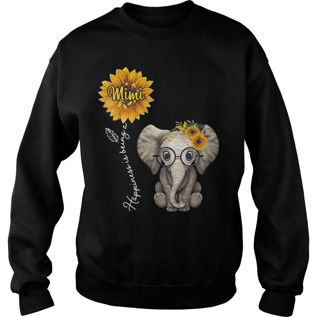 Sunflower Elephant Happiness Is Being A Mimi Sweater