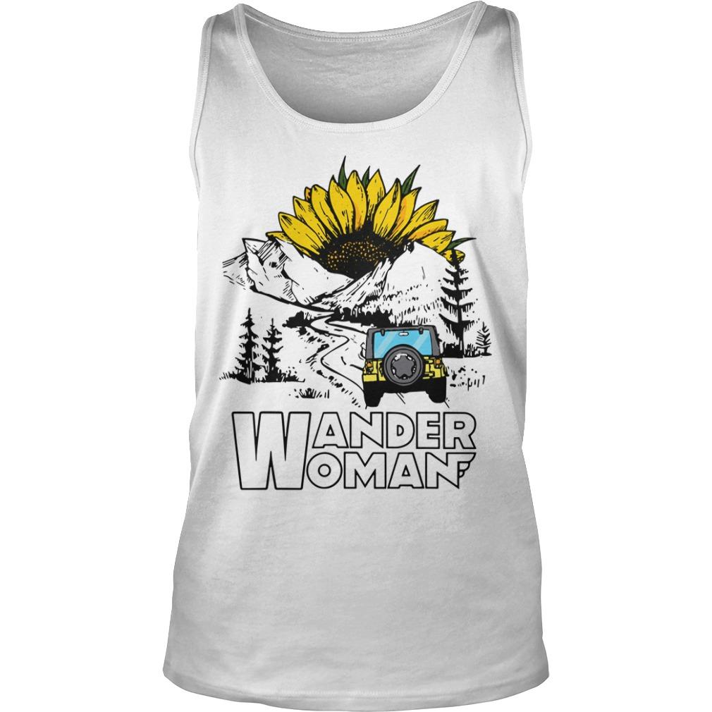 Sunflower Jeep Wander Woman Tank Top