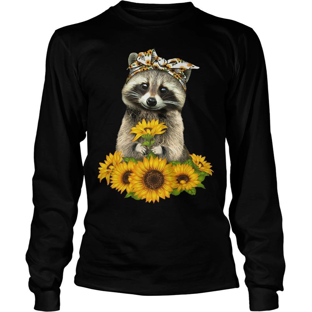 Sunflower Raccoon Longsleeve