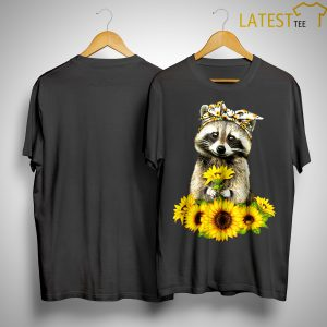 Sunflower Raccoon Shirt