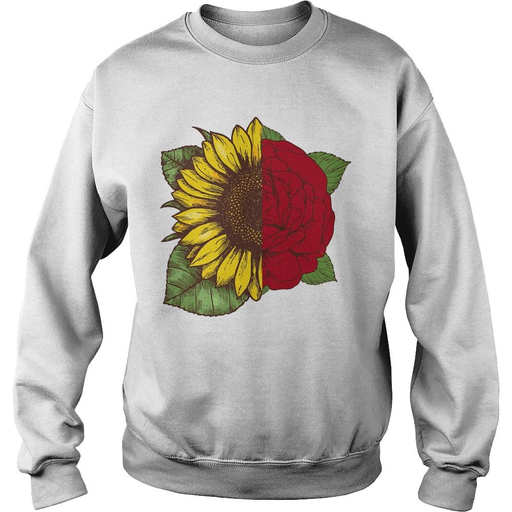 Sunflower Rose Sweater