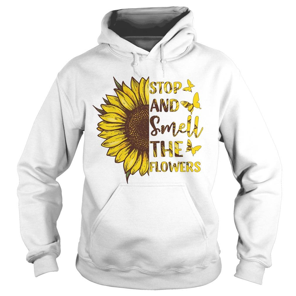 Sunflower Stop And Smell The Flowers Hoodie