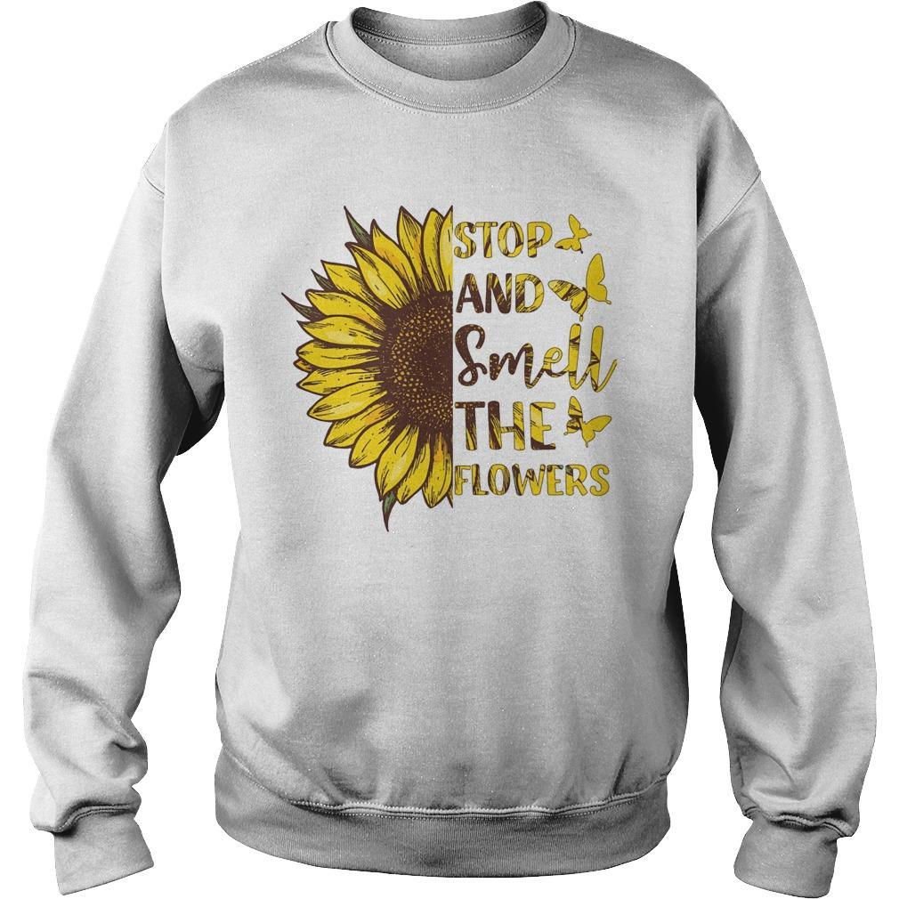 Sunflower Stop And Smell The Flowers Sweater