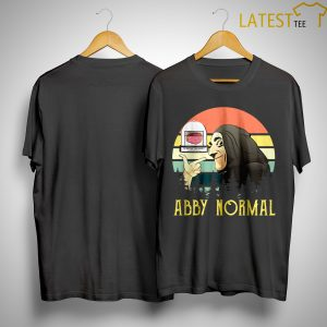 Sunset Vintage Brain Abby Normal Shirt