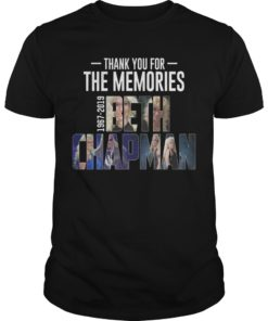 Thank You For The Memories 1967 2019 Beth Chapman Shirt