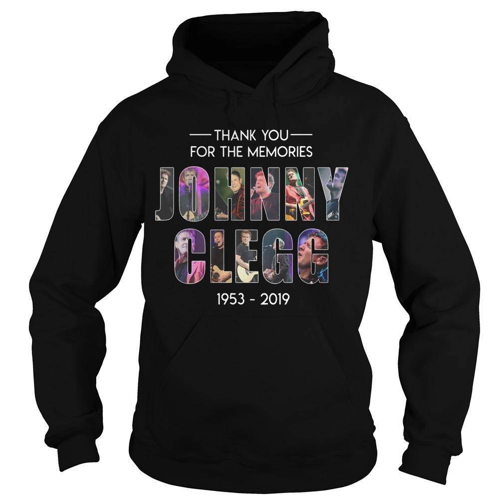 Thank You For The Memories Johnny Clegg 1953 2019 Hoodie