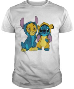 The Lion King Baby Stitch And Simba