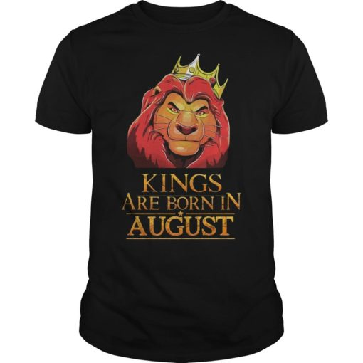 The Lion King Kings Are Born In August