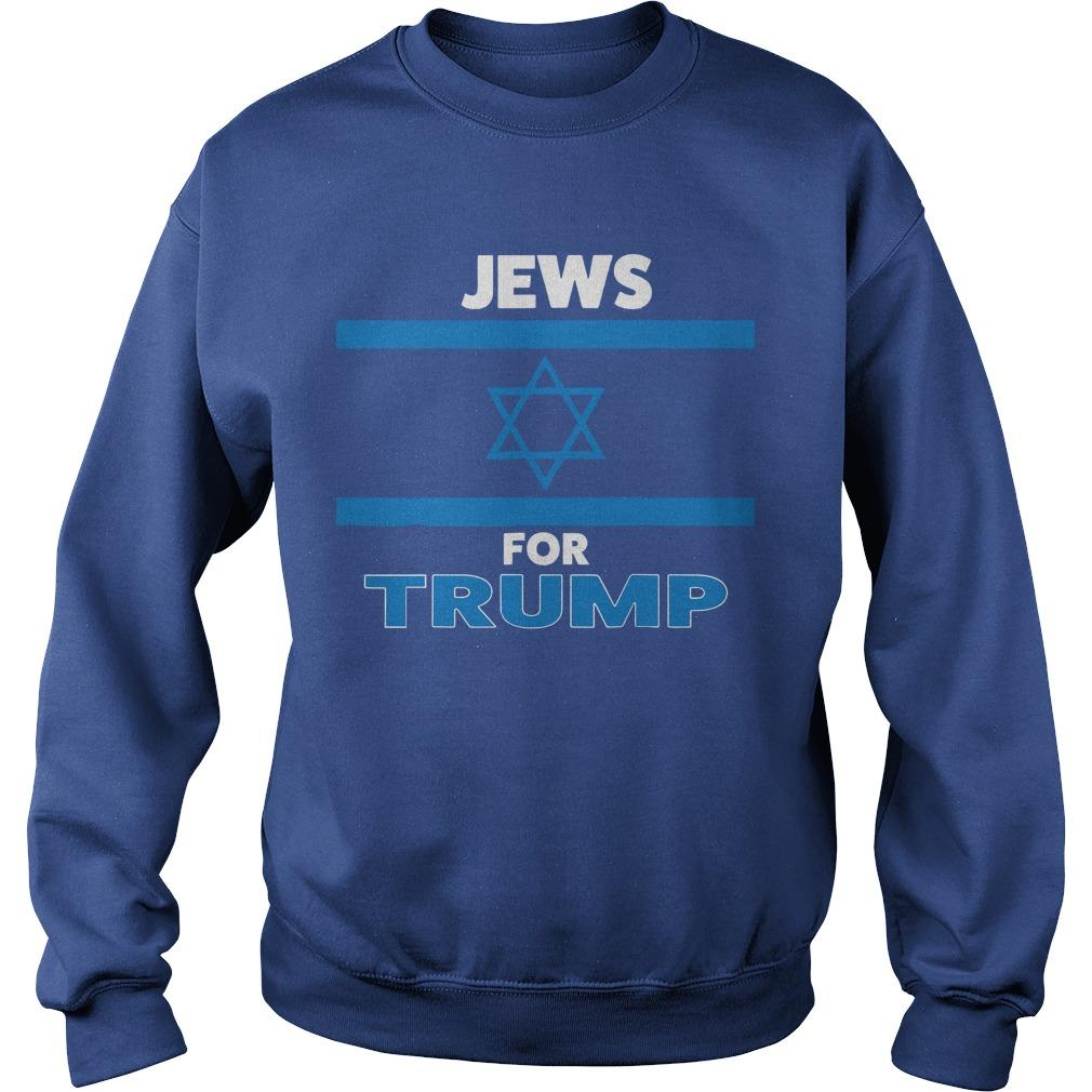 The Persistence Jews For Trump Sweater