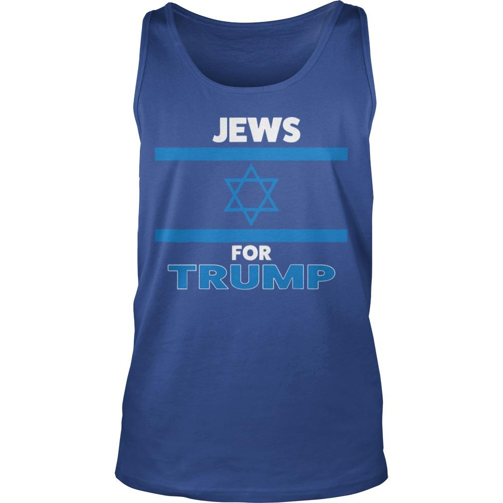 The Persistence Jews For Trump Tank Top