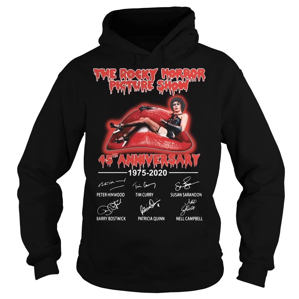 The Rocky Horror Picture Show 45th Anniversary 1975 2020 Hoodie