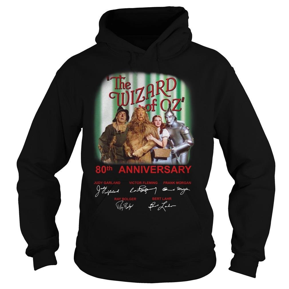The Wizard Of Oz 80th Anniversary 1939 2019 Hoodie