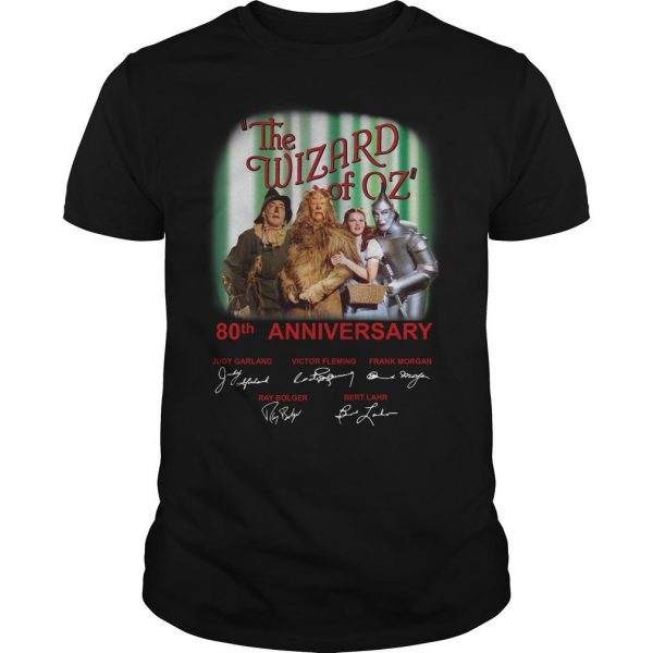 The Wizard Of Oz 80th Anniversary 1939 2019 Shirt