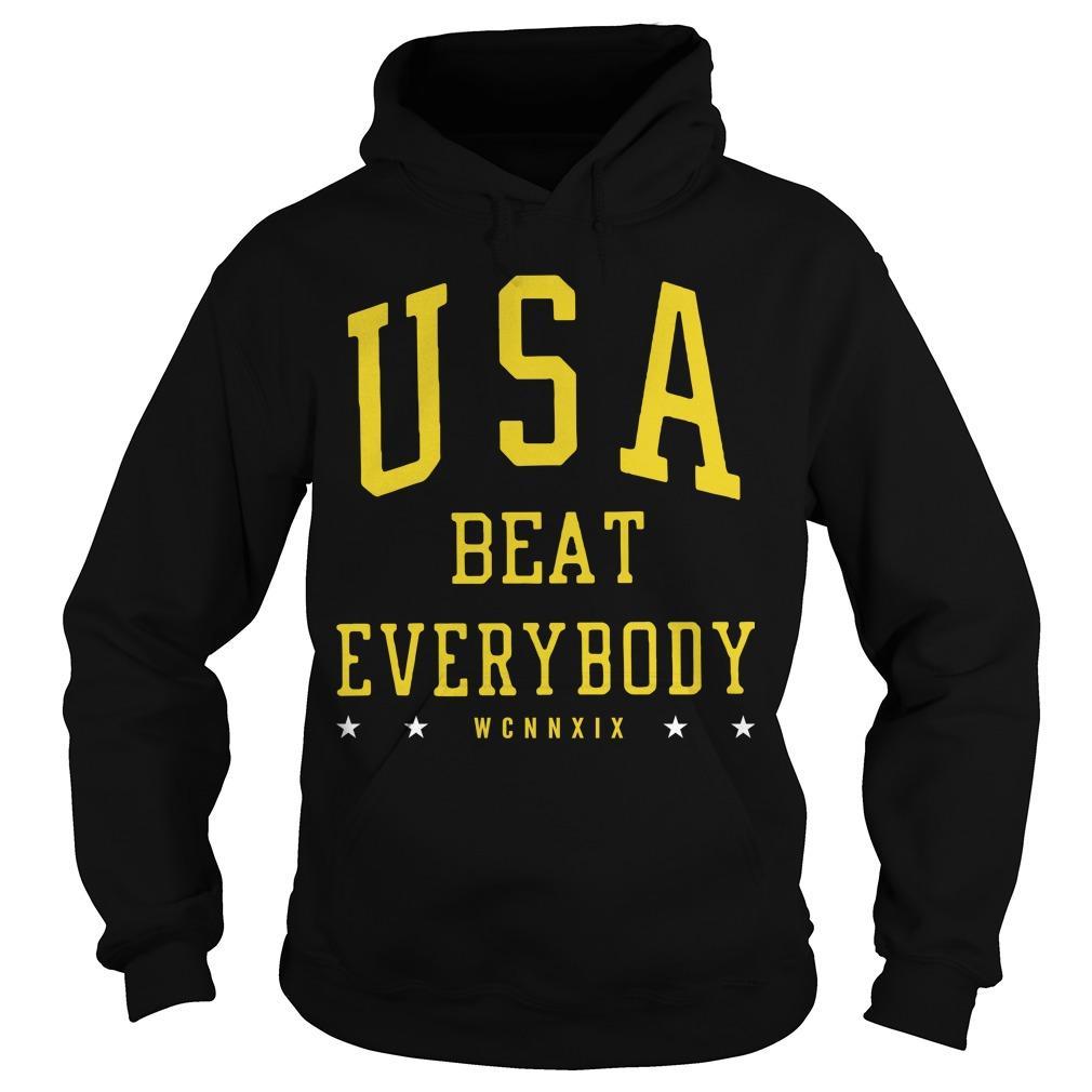 USA Beat Everybody USWNT Hoodie