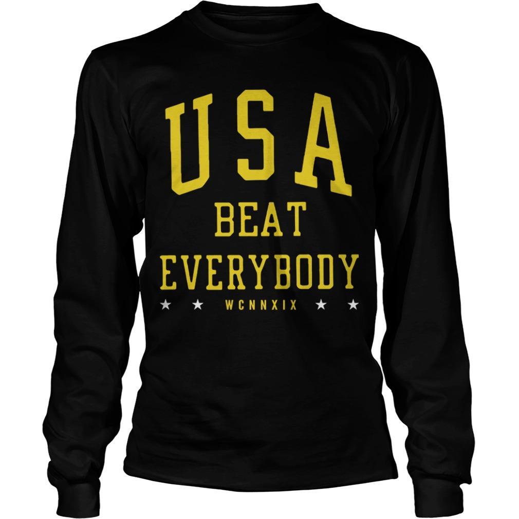 USA Beat Everybody USWNT Longsleeve