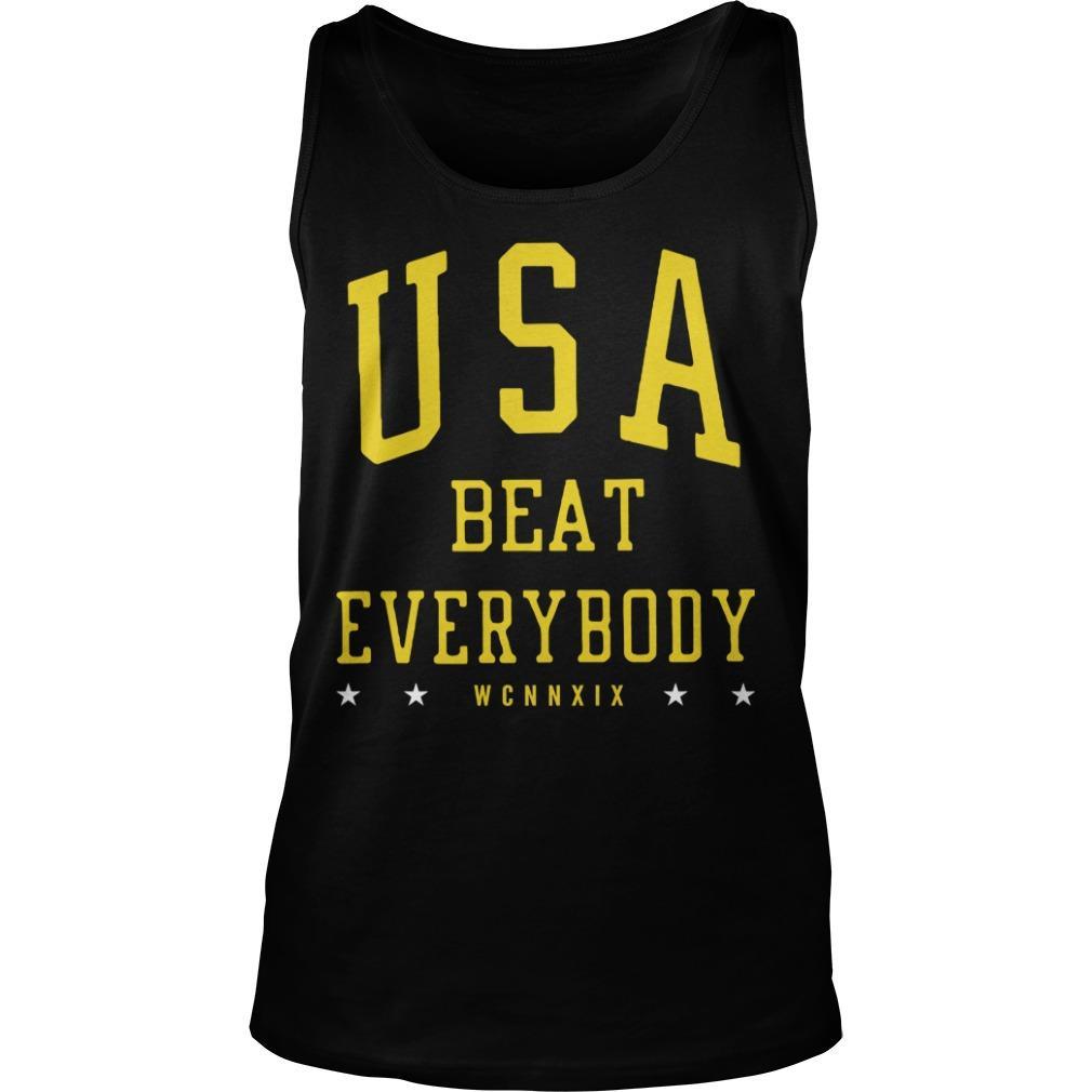 USA Beat Everybody USWNT Tank Top