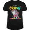 Unicorn Dabbing I'm Ready To Crush Kingergarten Shirt