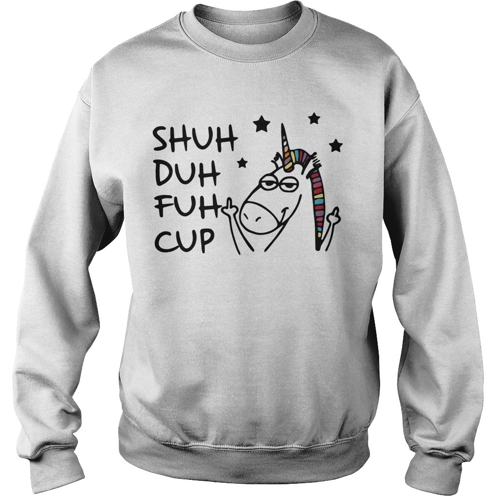 Unicorn Shuh Duh Fuh Cup Sweater
