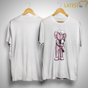 Uniqlo Pink Kaws T Shirt