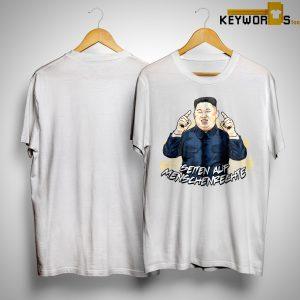 Versandleiter Kim Seiten Auf Menscherechte Shirt