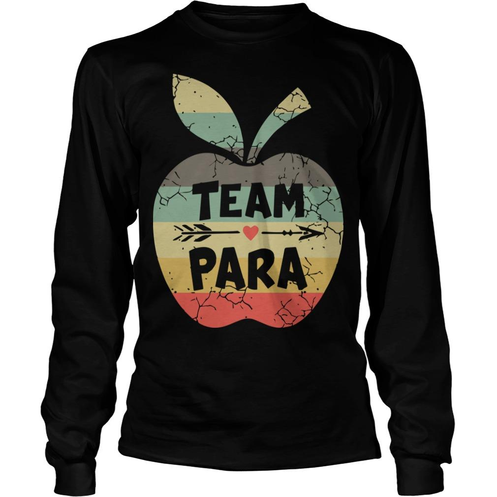Vintage Apple Team Para Longsleeve