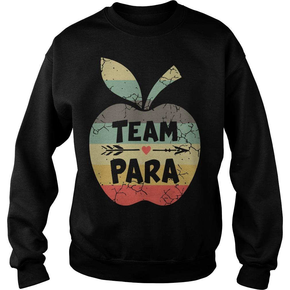 Vintage Apple Team Para Sweater