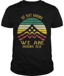 Vintage Ku Kiai Mauna We Are Mauna Kea
