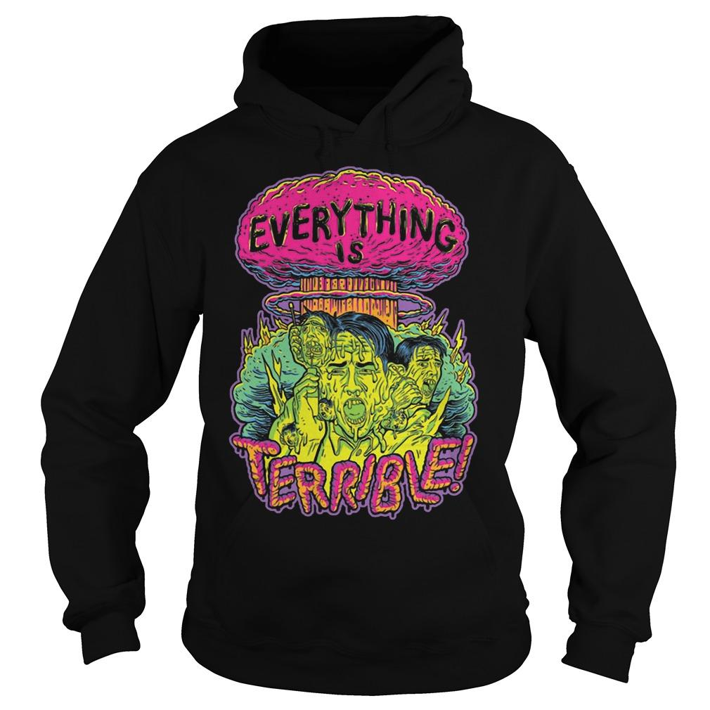 Vsauce Everything Is Terrible Hoodie