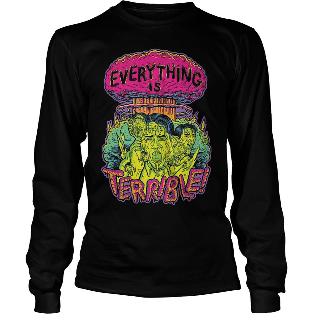 Vsauce Everything Is Terrible Longsleeve