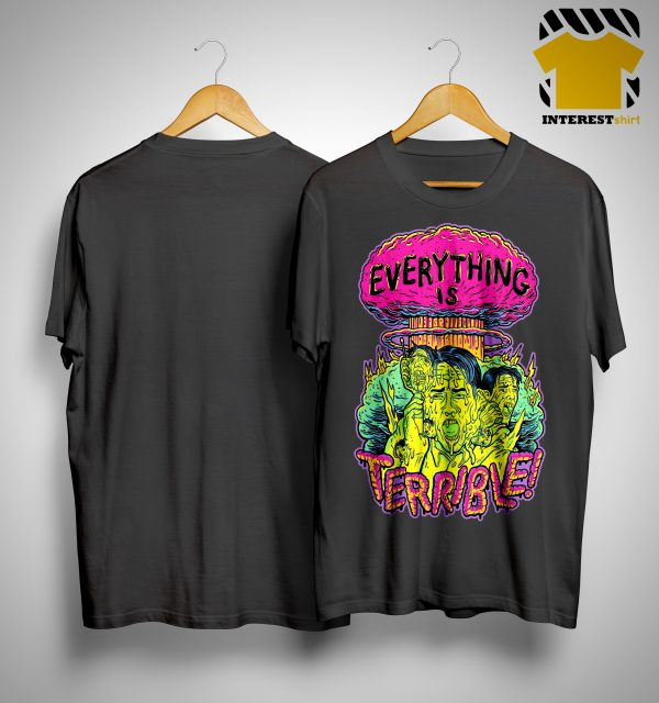 Vsauce Everything Is Terrible Shirt
