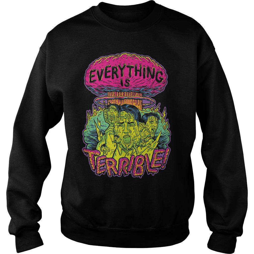 Vsauce Everything Is Terrible Sweater
