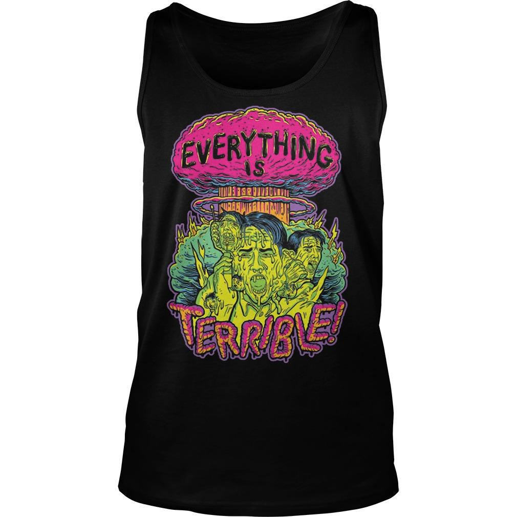 Vsauce Everything Is Terrible Tank Top