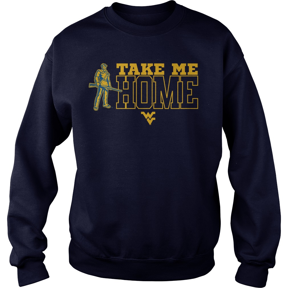 WVU Take Me To Home Sweater