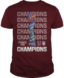 Women's World Cup France 2019 Champions Shirt