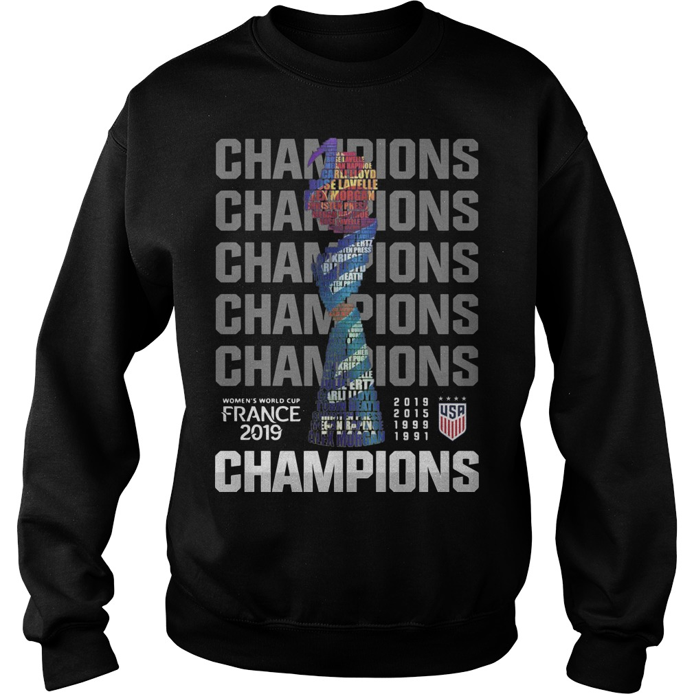 Women's World Cup France 2019 Champions Sweater
