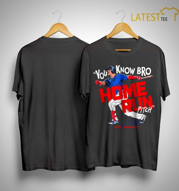 You Know Bro Home Run Pitch Shirt