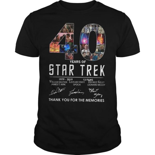 40 Years Of Star Trek 1979 2918 13 Films Thank You For The Memories
