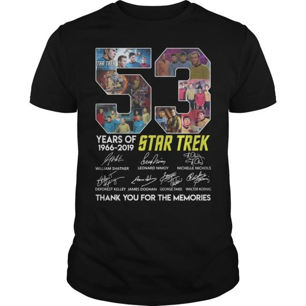 53 Years Of Star Trek 1966 2019 Thank You For The Memories