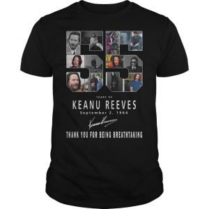 55 Years Of Keanu Reeves Thank You For Breathtaking